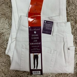 White jeans. Never worn